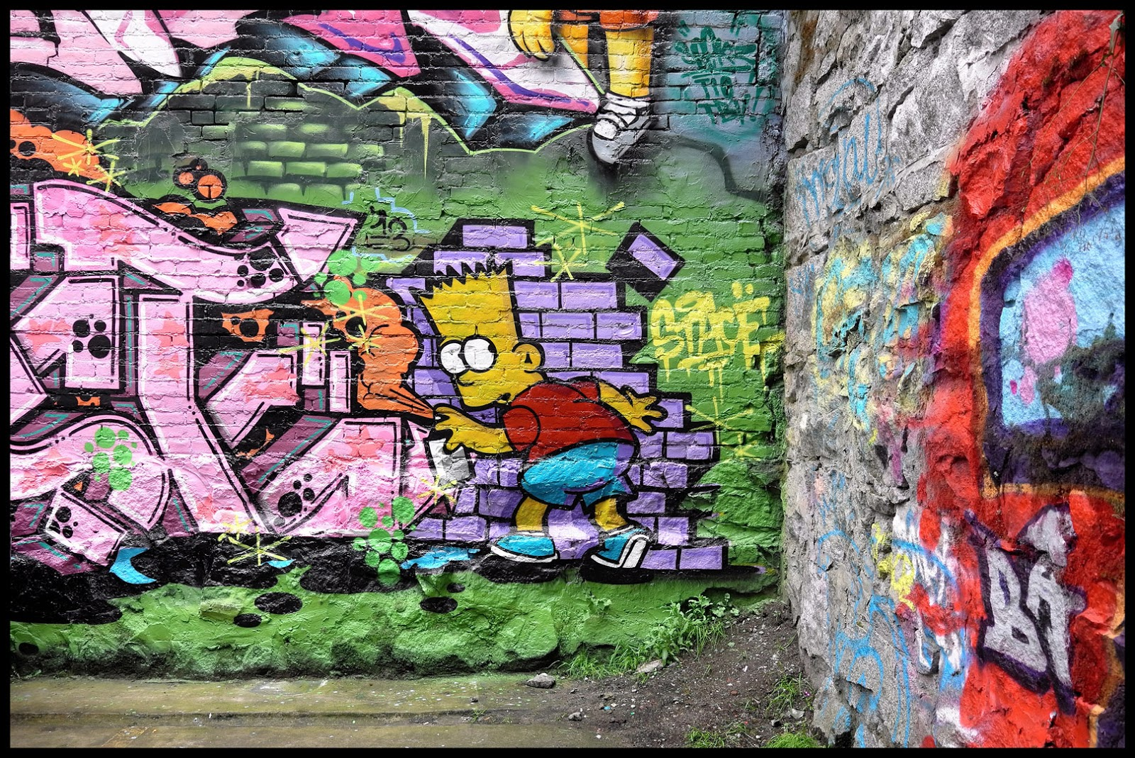 Is Bart Simpson A Working Graffiti Writer