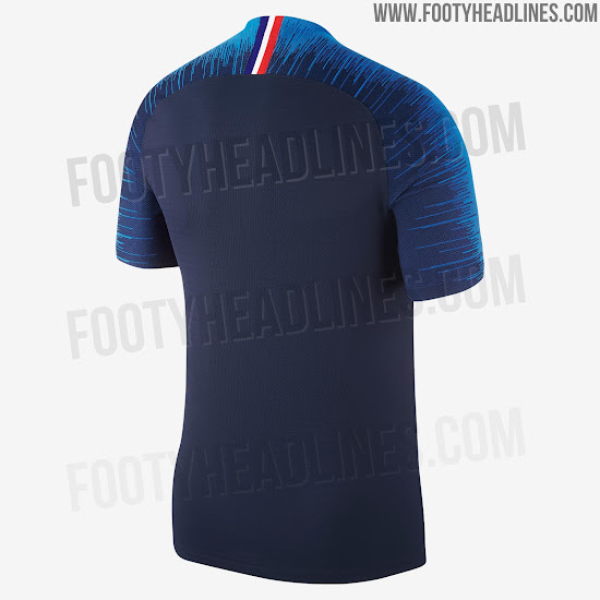 big sale 714d9 bb335 France 2018 World Cup Home Kit Revealed - Footy Headlines