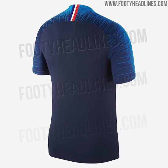Apr s l 39 ext rieur d couvrez le nouveau maillot domicile for Nouveau maillot exterieur equipe de france