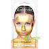 Masca detoxifianta metalica Gold, Silver, Blue -purifica si revitalizeaza tenul