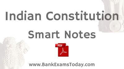 indian constitutions