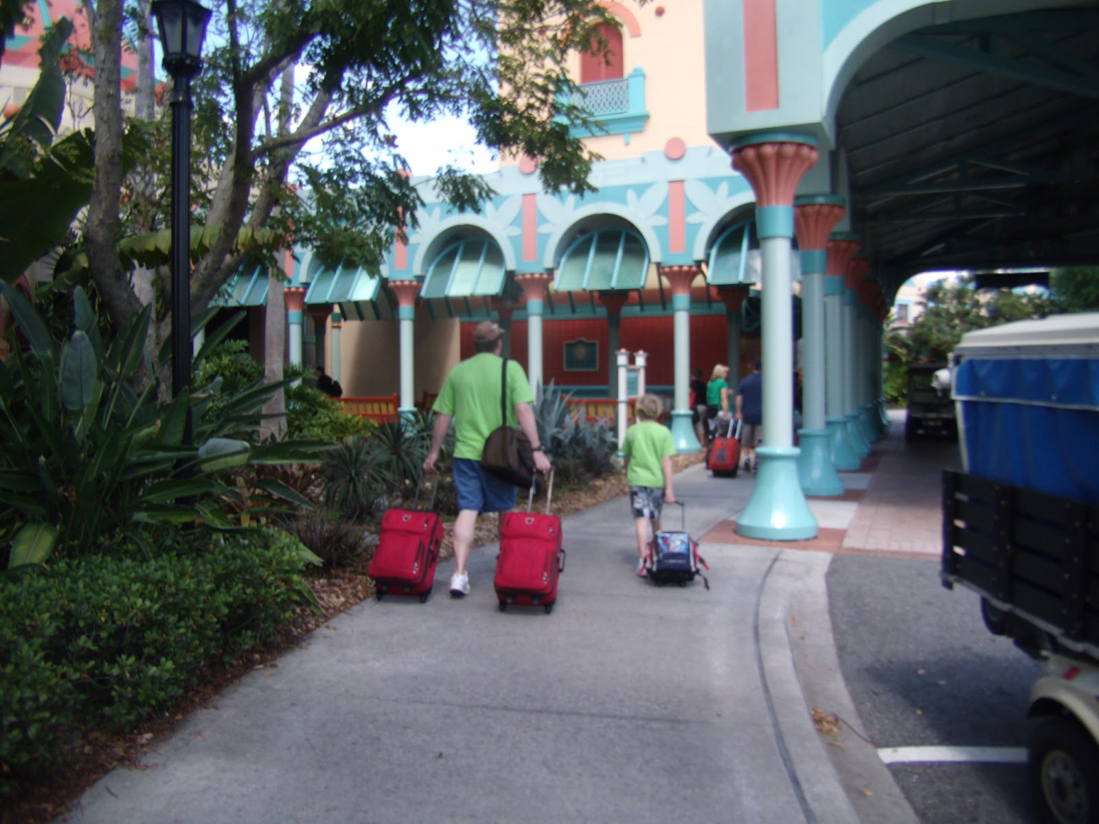 Williams Family: Bell Services at Walt Disney World Resorts