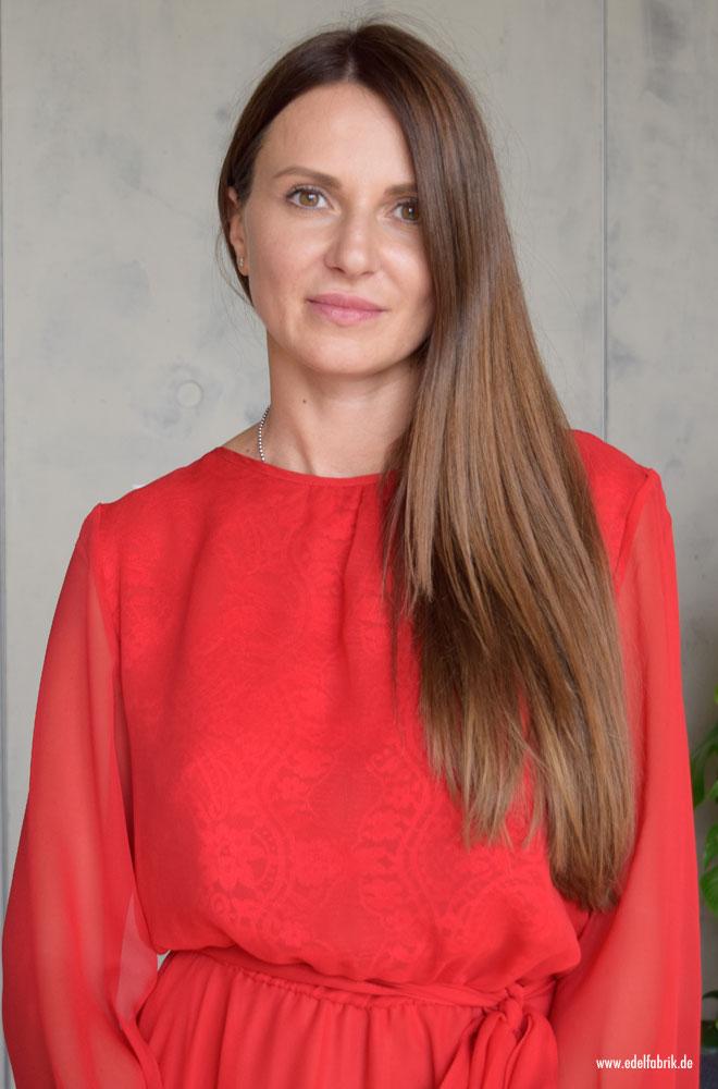 Ewa Herzog im Interview, Portrait