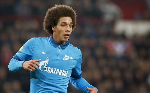 Manchester United targeting Axel Witsel