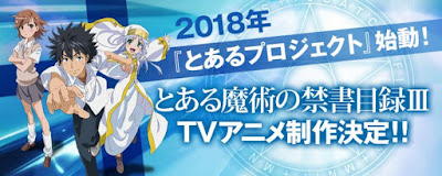 "tercera temporada de ""Toaru Majutsu no Index"""