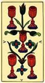 Tarot de Marsella - Cinco de Copas