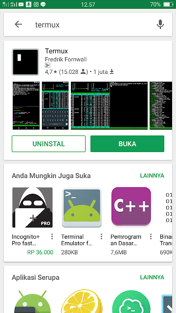 Akun SSH Gratis untuk Internet an free di Android