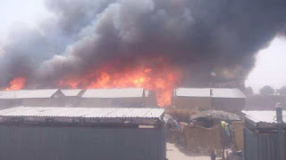 Orile Agege area of Lagos was rocked by an explosion that left 2 injured and destroyed properties worth several millions of naira, petfadblog.com reports.