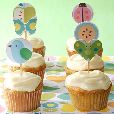 Castle Manor Spring Cupcake And Cake Ideas
