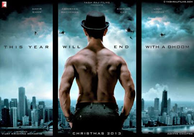 dhoom 3 movie wallpaper posters first look Amir khan