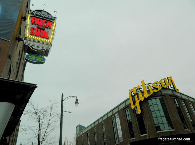 O Rock'n'Soul Museum de Memphis e a Fábrica de Guitarras Gibson