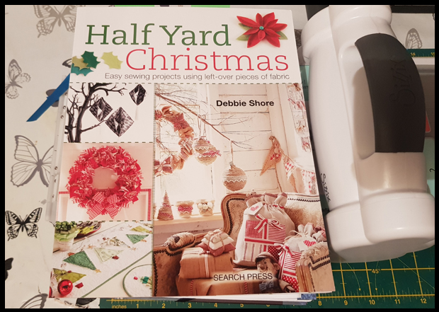 Great tutorials in the Half Yard Christmas book