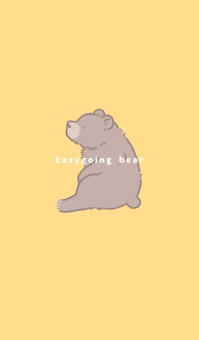 Easygoing bear