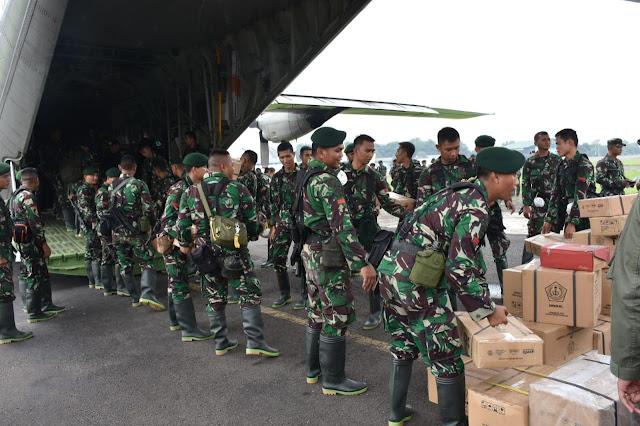 TNI Kirim Ratusan Prajurit Bantu Atasi Karhutla di Pekanbaru