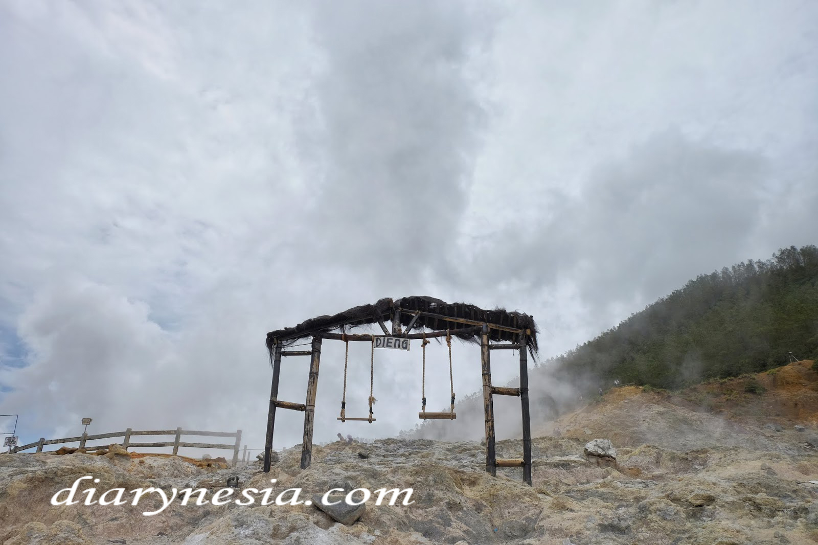 Dieng plateau tourism, reasons to visit dieng plateau, best points of interest in dieng, diarynesia