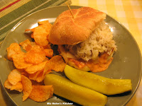 Reuben Burger at Miz Helen's Country Cottage