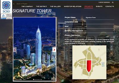Signature Tower Jakarta 2020