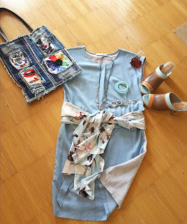 Jeanskleider - richtige Kombination