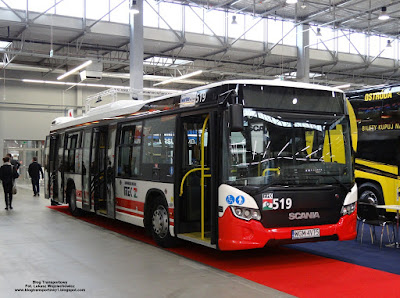 Scania CityWide, Warbus, TransExpo 2016