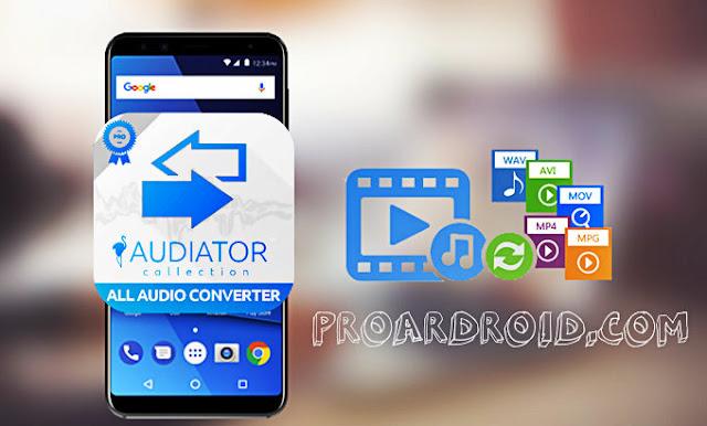تطبيق All Video Audio Converter PRO لتحويل ملفات الفيديو والصوت للاندرويد logo