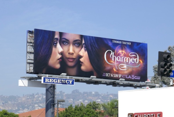 Charmed TV reboot billboard
