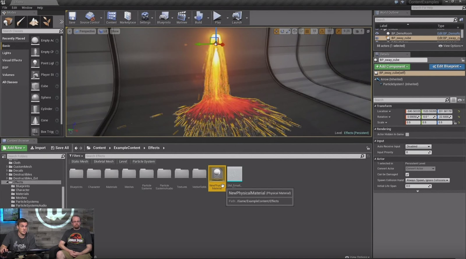 Physics-Based Simulations and Effects in Unreal Engine | CG TUTORIAL