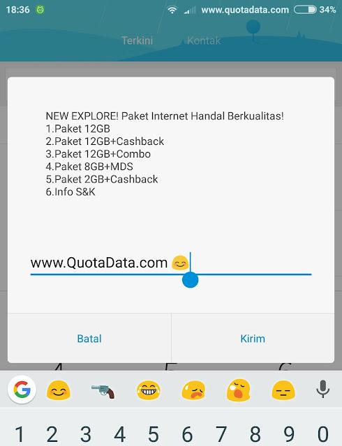 Paket 4G Telkomsel 12GB dan 8GB Terbaru 2017