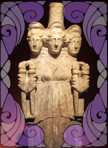Statue of Hekate | Wicca, Magic, Witchcraft, Paganism