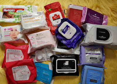 Makeup Remover Wipes Collection - www.modenmakeup.com