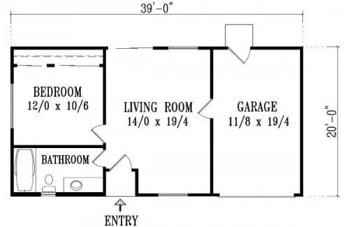 Planos de casas modelos y dise os de casas planos de for Diseno de apartamentos de 50 metros cuadrados
