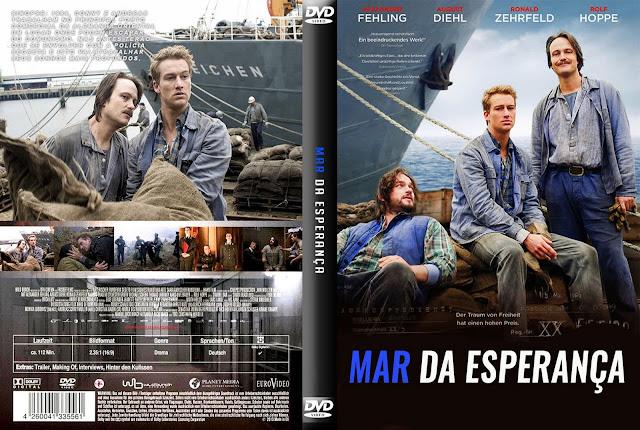 Capa DVD Mar Da Esperança