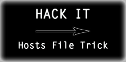 How to hack Windows hosts file?