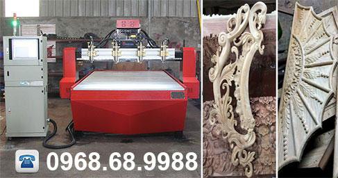 Kiếm tiền triệu với máy chạm gỗ CNC 1
