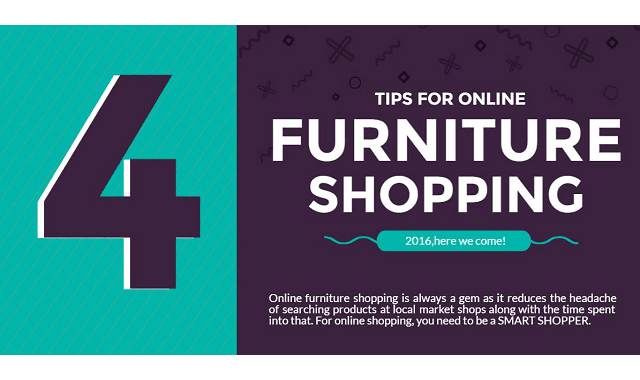 Tips For Online Furniture Shopping Infographic Visualistan