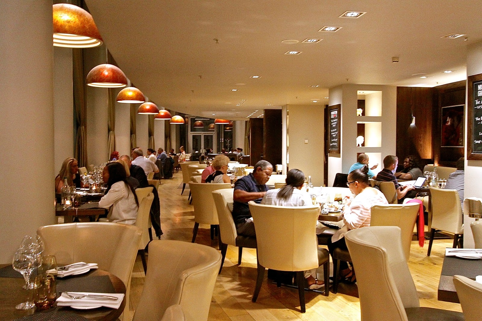 The London Foodie Manhattan Grill Steakhouse West India Quay