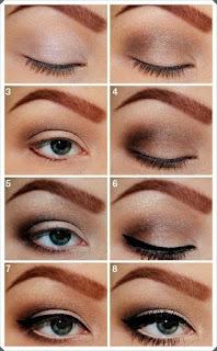 Çeşitli Göz Makyajı Yapım Örnekleri 5