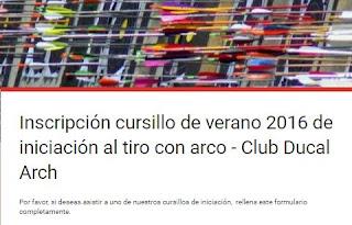 Club Ducal Arch