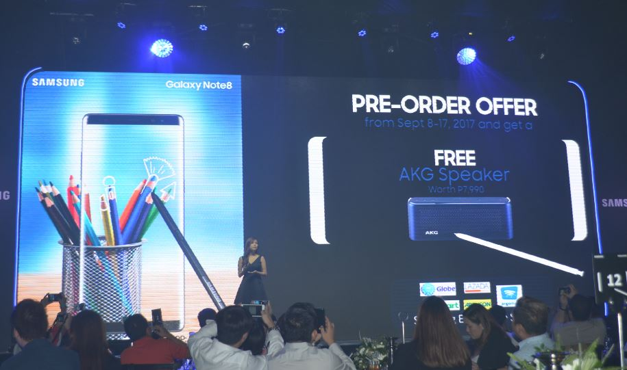 pre-order Samsung Galaxy Note 8