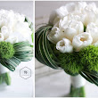 White and Green Bouquet with Tulip and Hydrangea