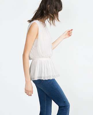 Zara Draped Top