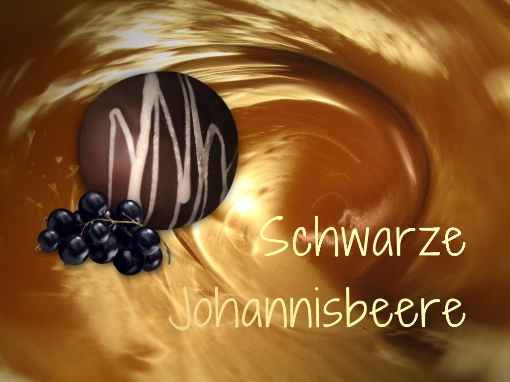 Schwarze Johannisbeer Trüffel