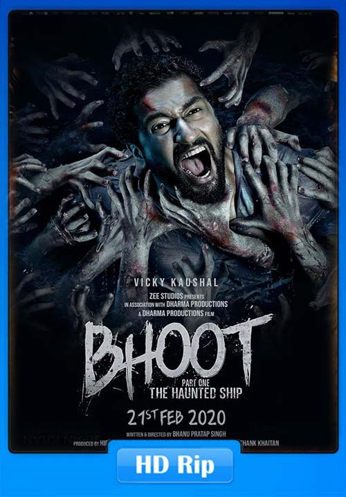 Bhoot Part One The Haunted Ship 2020 720p AMZN WEB-DL x264 | 480p 300MB | 100MB HEVC