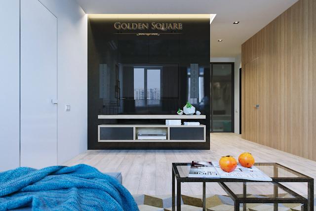 Phòng khách Golden Square Đà Nẵng