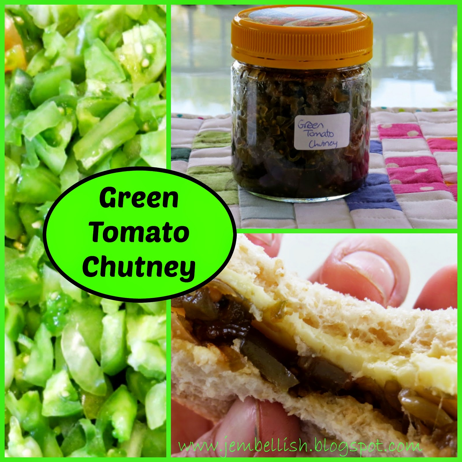 Creating my way to Success: Green Tomato Chutney - Use What You've Got ...