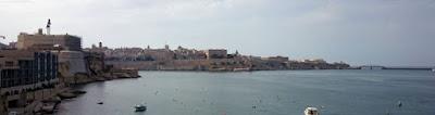 Vistas de La Valletta desde Vittoriosa.