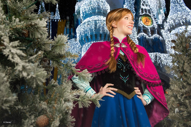 Anna -  no Magic Kingdom