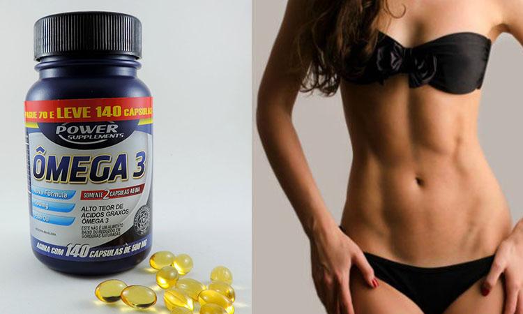 perder barriga, omega 3