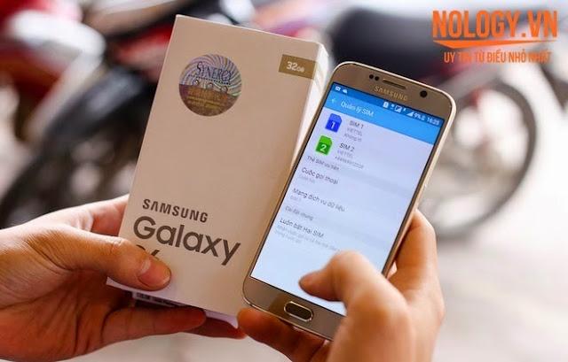 Lý do Samsung Galaxy S6 2 sim cũ giá 6 triệu đồng hút khách