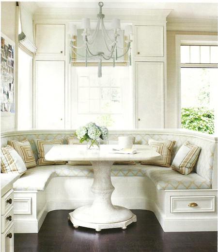 Banquet Kitchen Table: Love That: Banquette Seating Ideas #2