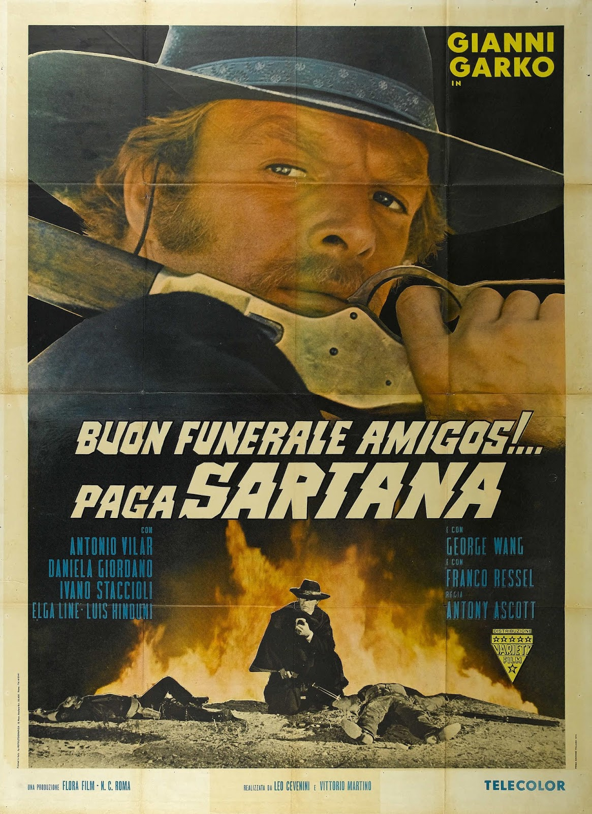 Have a Nice Funeral, My Friend, Sartana Will Pay